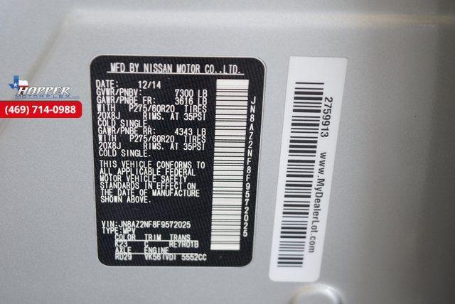 2015 Infiniti QX80 Base in McKinney Texas, 75070