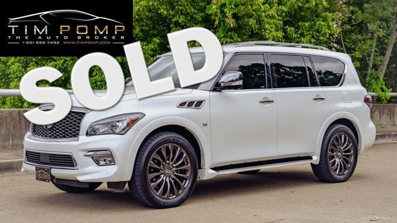 2015 Infiniti QX80 Limited   Memphis, Tennessee   Tim Pomp - The Auto Broker in Memphis Tennessee