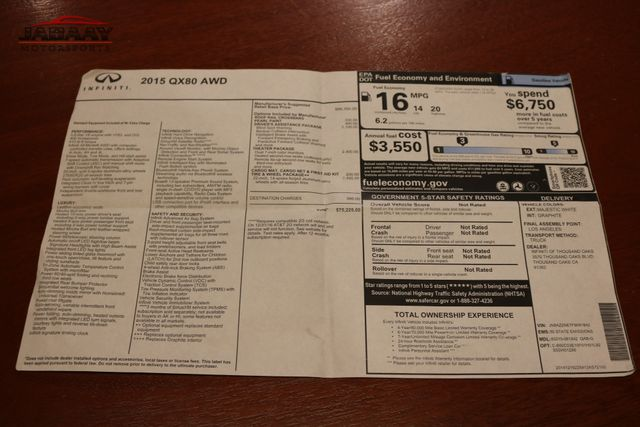 2015 Infiniti QX80 Merrillville, Indiana 54