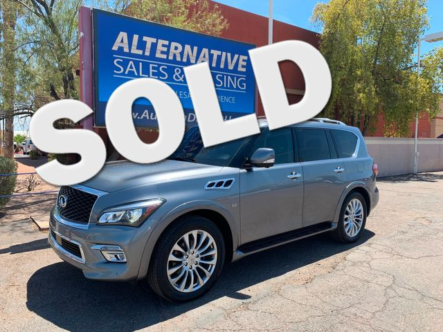 2015 Infiniti QX80 3 MONTH/3,000 MILE NATIONAL POWERTRAIN WARRANTY Mesa, Arizona