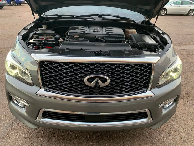 2015 Infiniti QX80 3 MONTH/3,000 MILE NATIONAL POWERTRAIN WARRANTY Mesa, Arizona 8
