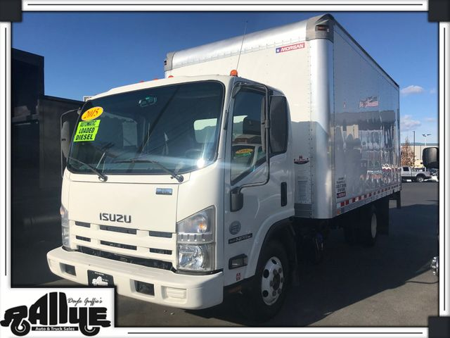 2015 Isuzu NPR Box Truck Tilt Cab in Burlington, WA 98233