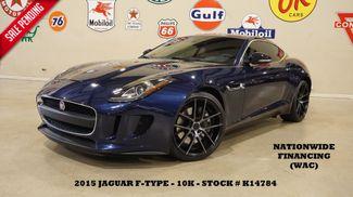 2015 Jaguar F-TYPE V6 Coupe GLASS ROOF,NAV,BACK-UP,HTD LTH,20'S,10K in Carrollton, TX 75006