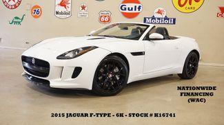 2015 Jaguar F-TYPE V6 Convertible MSRP 78K,NAV,LEATHER,6K,WE FINANCE in Carrollton, TX 75006