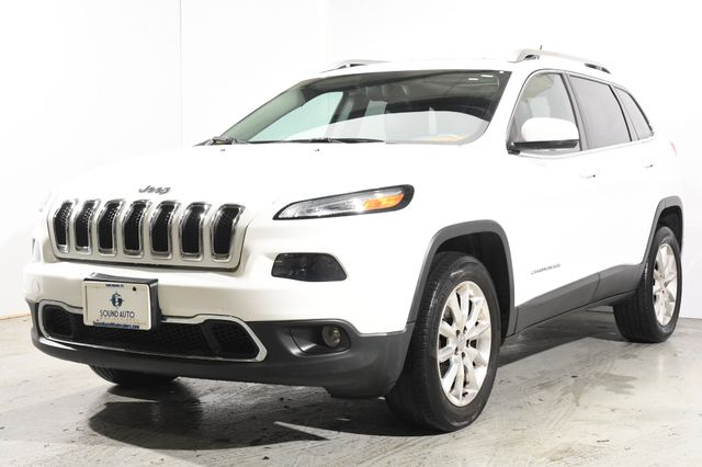 2015 Jeep Cherokee Limited Nav & Sunroof
