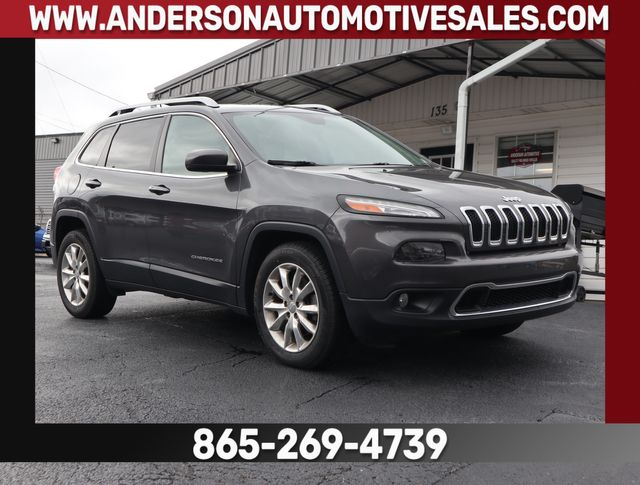 2015 Jeep Cherokee Limited in Clinton, TN 37716