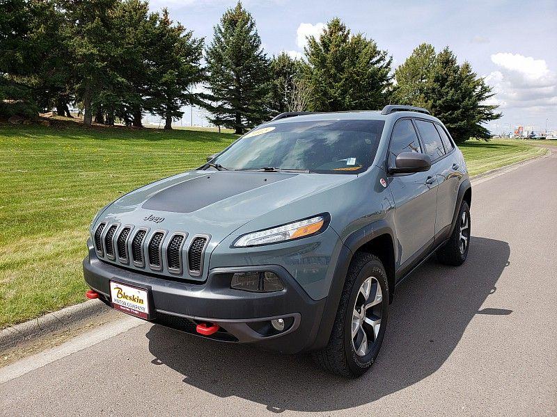 2015 Jeep Cherokee Trailhawk  city MT  Bleskin Motor Company   in Great Falls, MT