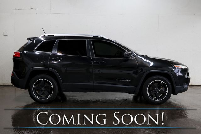 2015 Jeep Cherokee Limited 4x4 w/Navigation, Backup Cam, Panoramic Roof, Heated Seats & Steering Wheel in Eau Claire, Wisconsin 54703