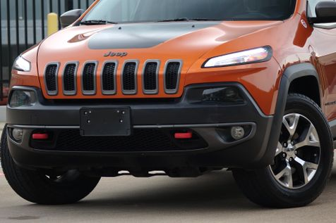 2015 Jeep Cherokee Trailhawk* AWD* Leather*  | Plano, TX | Carrick's Autos in Plano, TX