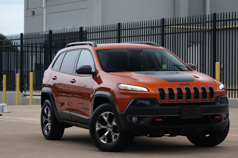 2015 Jeep Cherokee Trailhawk* AWD* Leather*  | Plano, TX | Carrick's Autos in Plano TX