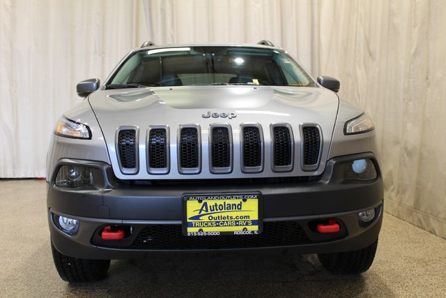 2015 Jeep Cherokee 4x4 Trailhawk in Roscoe IL, 61073