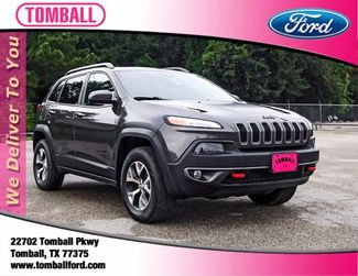 2015 Jeep Cherokee Trailhawk in Tomball, TX 77375