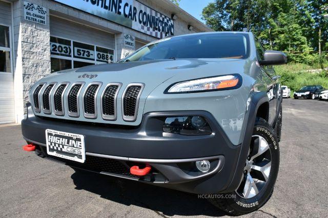 2015 Jeep Cherokee Trailhawk Waterbury, Connecticut 11