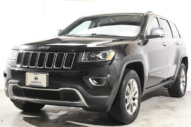 2015 Jeep Grand Cherokee Limited Nav & Sunroof