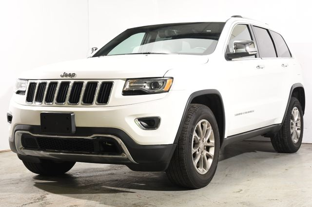 2015 Jeep Grand Cherokee Limited w/ Nav & Sunroof