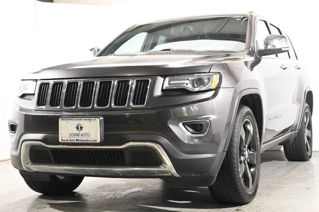 "2015 Jeep Grand Cherokee Limited w/ 20"" Wheels/ Nav/ Sunroof"