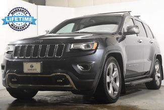 2015 Jeep Grand Cherokee Overland w/ Blind Spot/ Nav/ Safety Tech in Branford, CT 06405