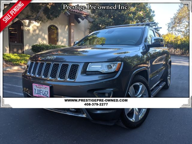 2015 Jeep GRAND CHEROKEE OVERLAND ((**4X4..NAVI & BACK UP CAM**))