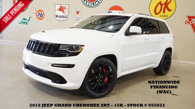 2015 Jeep Grand Cherokee SRT PANO ROOF,NAV,HTD/COOL LTH,H/K SYS,15K