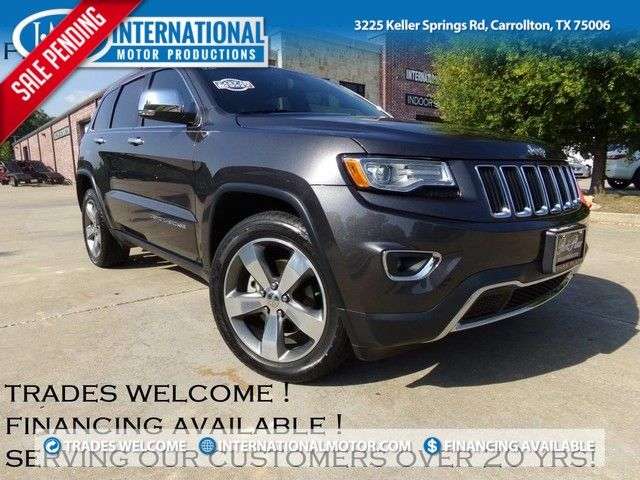 2015 Jeep Grand Cherokee Limited ONE OWNER in Carrollton, TX 75006