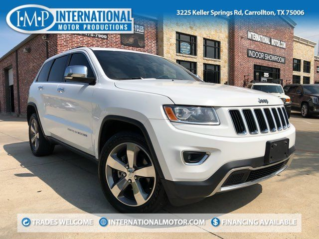 2015 Jeep Grand Cherokee Limited ONE OWNER
