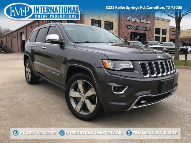 2015 Jeep Grand Cherokee Overland ONE OWNER
