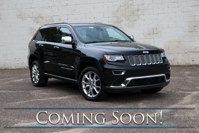 2015 Jeep Grand Cherokee Summit 4x4 ECODIESEL with Nav, Adaptive Cruise, Heated/Cooled Seats & Tow Pkg