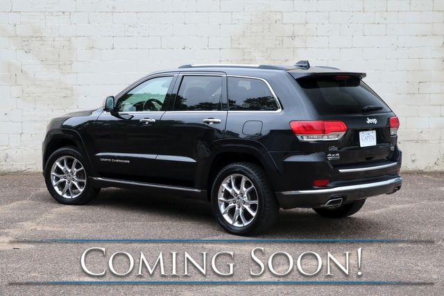 2015 Jeep Grand Cherokee Summit 4x4 ECODIESEL with Nav, Adaptive Cruise, Heated/Cooled Seats & Tow Pkg in Eau Claire, Wisconsin 54703