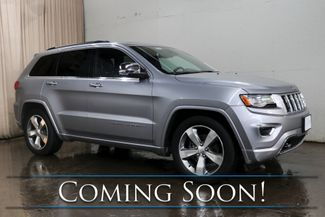 2015 Jeep Grand Cherokee Overland 4x4 SUV w/Adaptive Cruise, Nav, Heated/Cooled Seats, Alpine Audio & Tow Pkg in Eau Claire, Wisconsin 54703