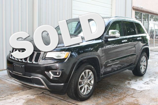 2015 Jeep Grand Cherokee Limited Houston, Texas 2
