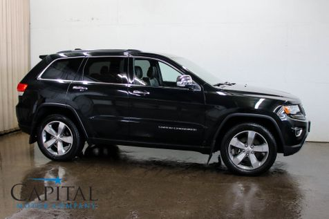 2015 Jeep Grand Cherokee Limited 4x4 EcoDiesel w/Navigation, Heated/Cooled Seats, Panoramic Roof & Alpine Audio in Eau Claire