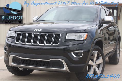 2015 Jeep Grand Cherokee Limited   4x4-NAV-REAR CAM- COOLED SEATS-PANO ROOF-LUX GROUP II-WARRANTY! in Mansfield, TX