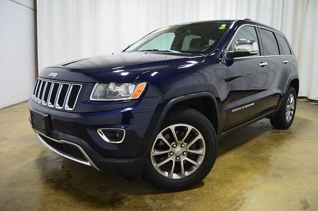 2015 Jeep Grand Cherokee Limited/ W Navi & Sunroof