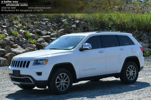 2015 Jeep Grand Cherokee Limited 4WD Naugatuck, Connecticut