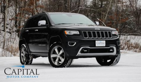 2015 Jeep Grand Cherokee Overland Clean Diesel 4x4 SUV w/Heated/Cooled Seats, Navigation & Panoramic Roof in Eau Claire