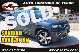 2015 Jeep Grand Cherokee Limited   Plano, TX   Consign My Vehicle in  TX