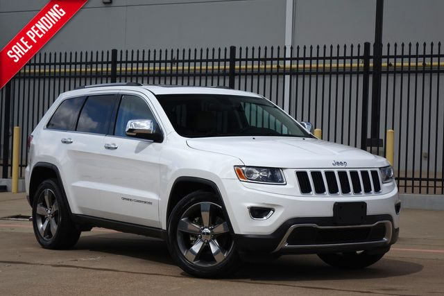2015 Jeep Grand Cherokee Limited*BU Cam*Leather*Sunroof*EZ Finance** | Plano, TX | Carrick's Autos in Plano TX