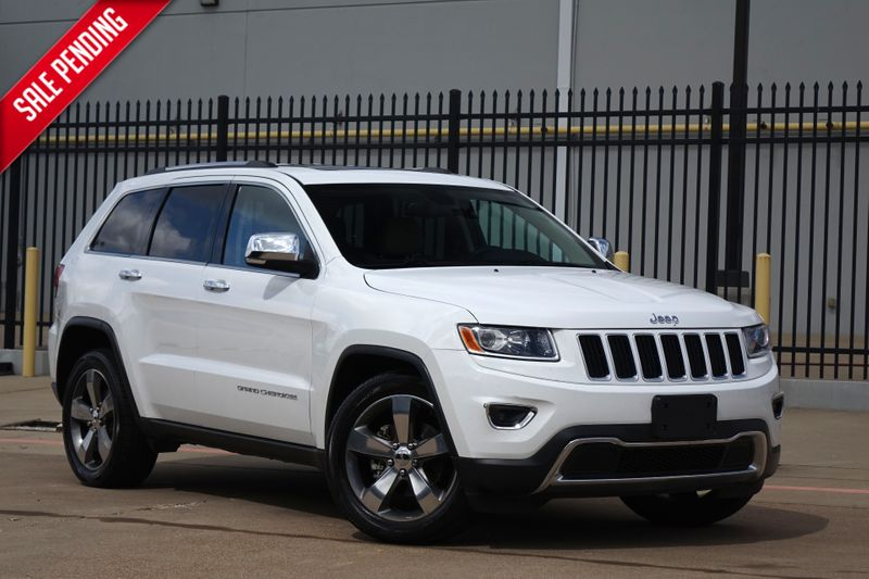 2015 Jeep Grand Cherokee Limited*BU Cam*Leather*Sunroof*EZ Finance**   Plano, TX   Carrick's Autos in Plano TX