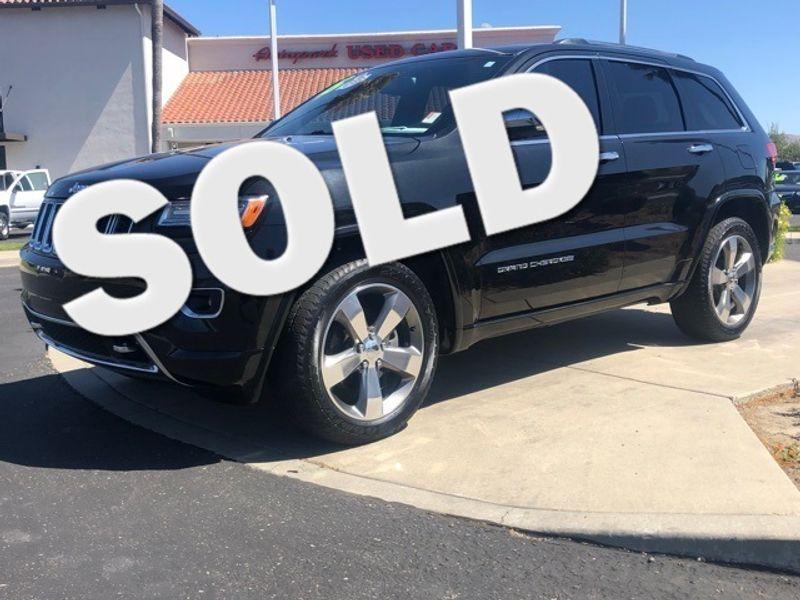 2015 Jeep Grand Cherokee Overland   San Luis Obispo, CA   Auto Park Sales & Service in San Luis Obispo CA