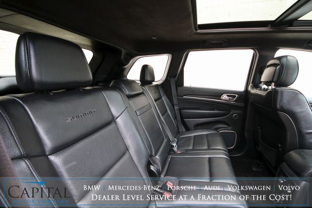 2015 Jeep Grand Cherokee Summit 4x4 ECO-Diesel with Adaptive Cruise, Panoramic Roof, Nav & Tow Package in Eau Claire, Wisconsin 54703