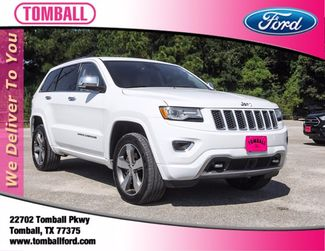 2015 Jeep Grand Cherokee Overland in Tomball, TX 77375