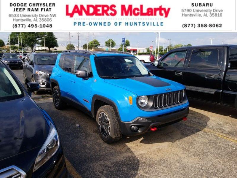 2015 Jeep Renegade Trailhawk | Huntsville, Alabama | Landers Mclarty DCJ & Subaru in Huntsville Alabama