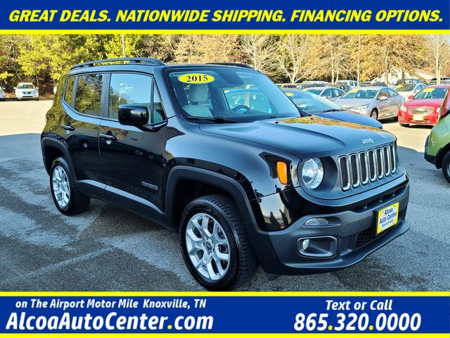 "2015 Jeep Renegade Latitude 4WD MY SKY Dual Sunroofs/17"" Alloys in Louisville, TN 37777"