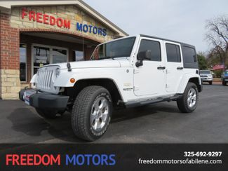 2015 Jeep Wrangler Unlimited Sahara 4x4 | Abilene, Texas | Freedom Motors  in Abilene,Tx Texas