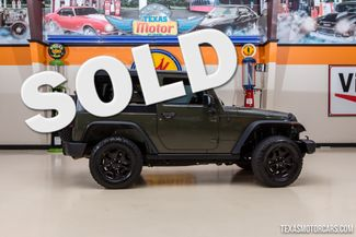 2015 Jeep Wrangler Willys Wheeler 4X4 in Addison Texas, 75001