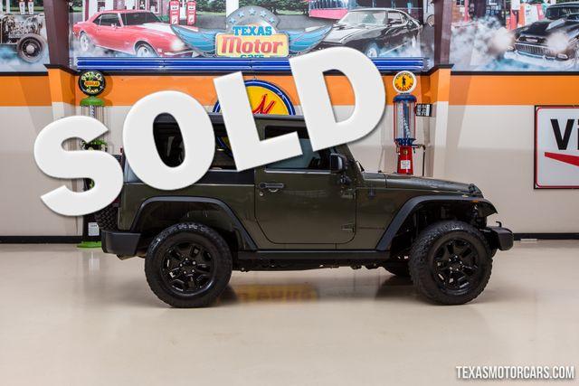 2015 Jeep Wrangler Willys Wheeler 4X4