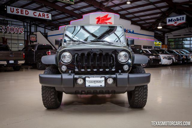2015 Jeep Wrangler Willys Wheeler 4X4 in Addison Texas, 75001