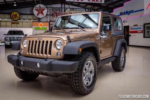 2015 Jeep Wrangler Rubicon 4X4 in Addison Texas, 75001