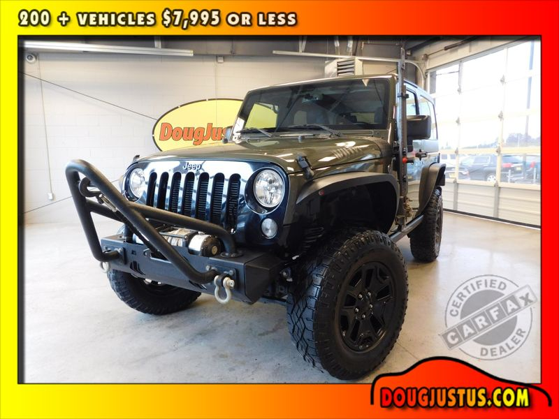 2015 Jeep Wrangler Willys Wheeler  city TN  Doug Justus Auto Center Inc  in Airport Motor Mile ( Metro Knoxville ), TN