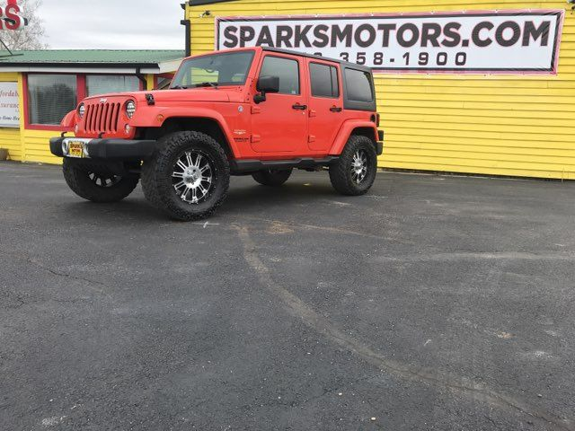 2015 Jeep Wrangler Unlimited Sahara in Bonne Terre, MO 63628